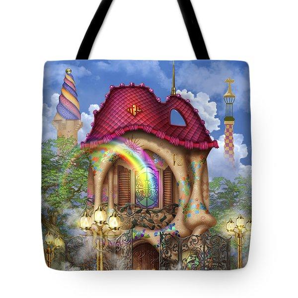 Dreams Of Gaudi Tote Bag by Ciro Marchetti