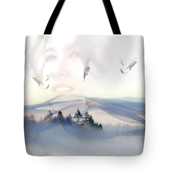 Dreams Soar Tote Bag by Lisa Knechtel