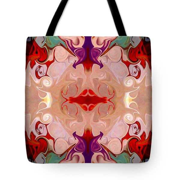 Drenched In Awareness Abstract Healing Artwork By Omaste Witkows Tote Bag by Omaste Witkowski