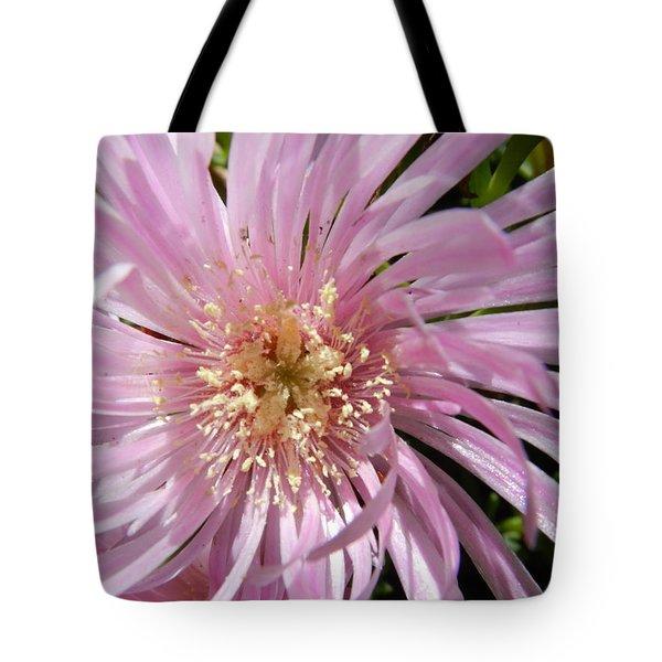 Dressed In Pink Tote Bag by Leana De Villiers