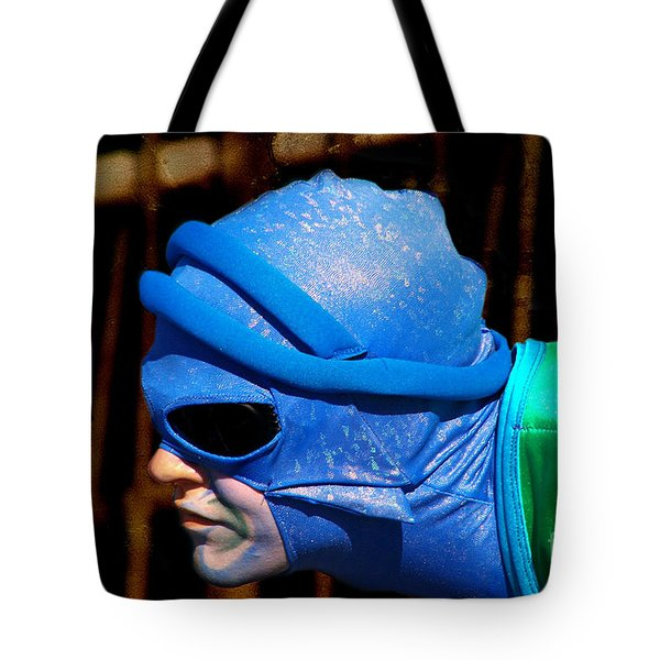 Dressed Up For The Show Tote Bag by Mariola Bitner