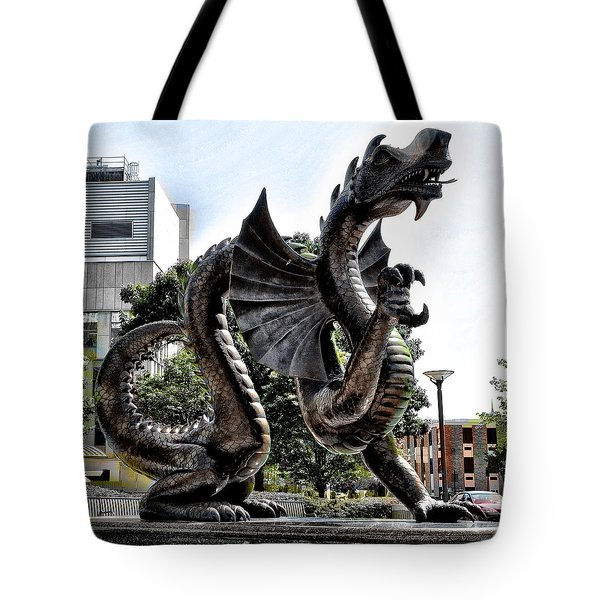 Drexel University Dragon Tote Bag by Bill Cannon