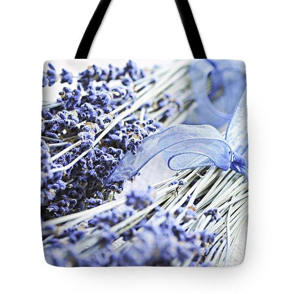 Dried Lavender Tote Bag by Elena Elisseeva