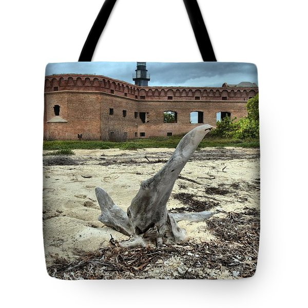 Drift Wood Seal Tote Bag by Adam Jewell