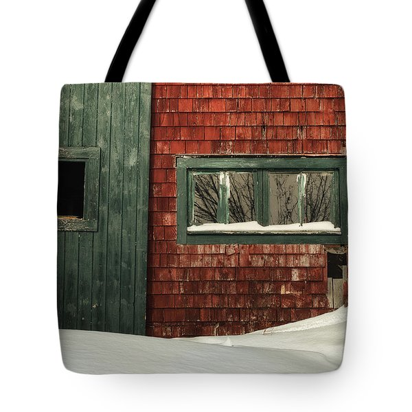 Drifted In Tote Bag by Susan Capuano