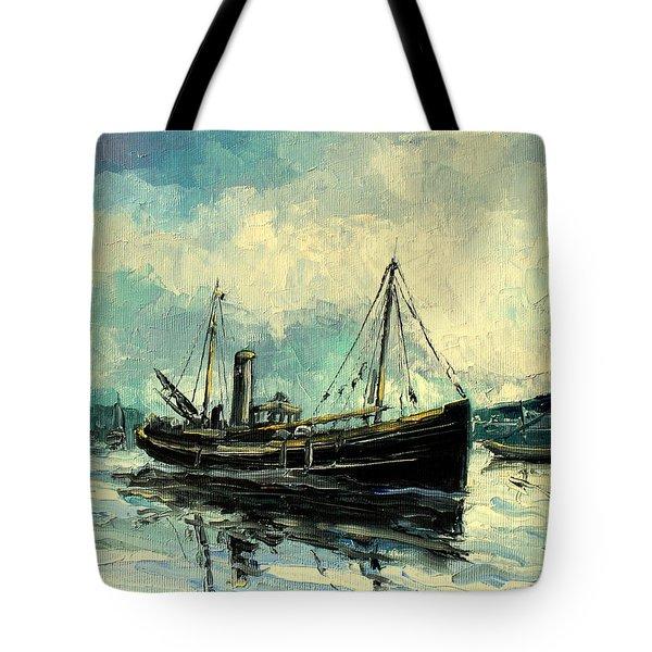 Drifter Tote Bag by Luke Karcz
