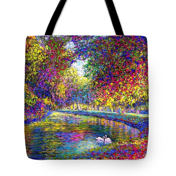 Drifting Beauty Tote Bag by Jane Small