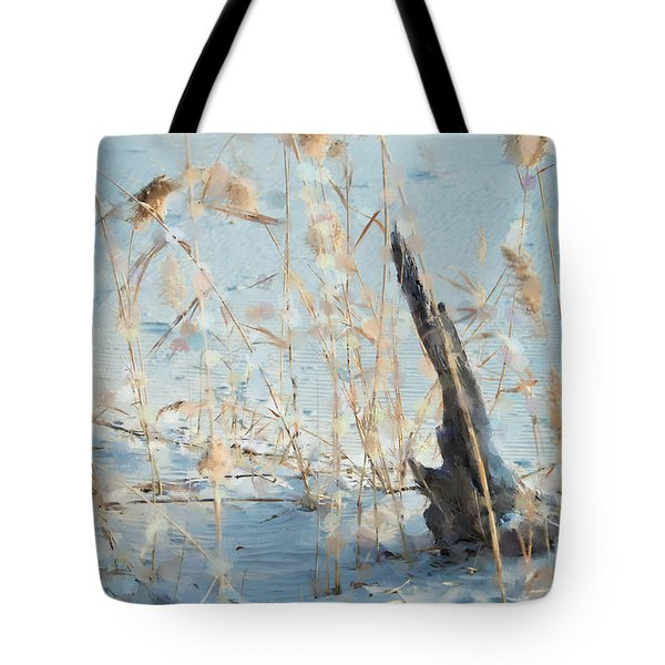Driftwood Abstract Tote Bag by Betty LaRue