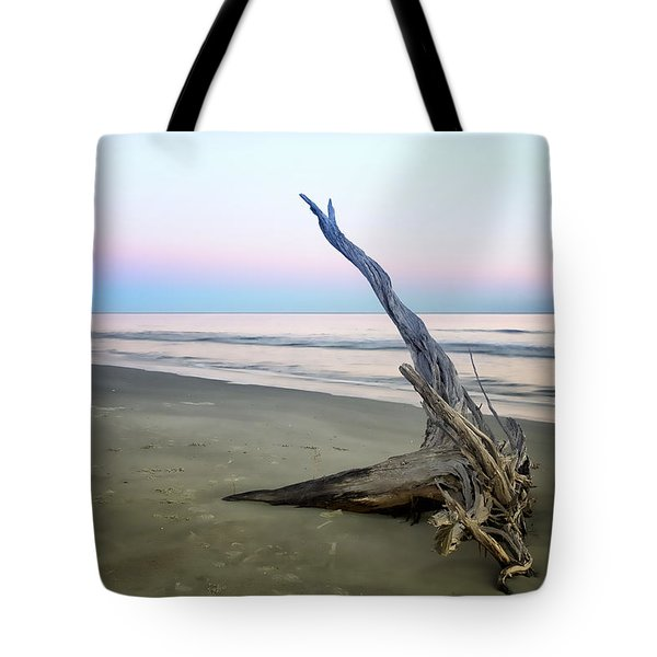 Driftwood At Dusk Tote Bag by Phill Doherty