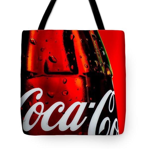 Drink Coca Cola Tote Bag by Bob Orsillo
