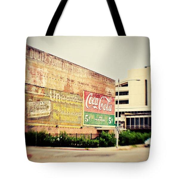 Drink Coca Cola Tote Bag by Scott Pellegrin