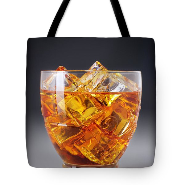 Drink On Ice Tote Bag by Carlos Caetano