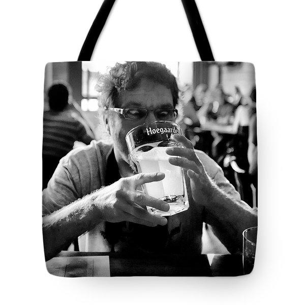Drink Up Tote Bag by Trever Miller