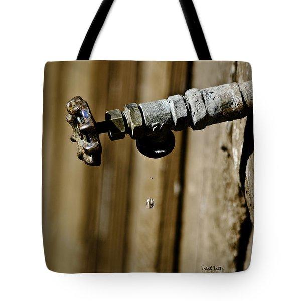 Drip...Drip...Drip...Drip Tote Bag by Trish Tritz