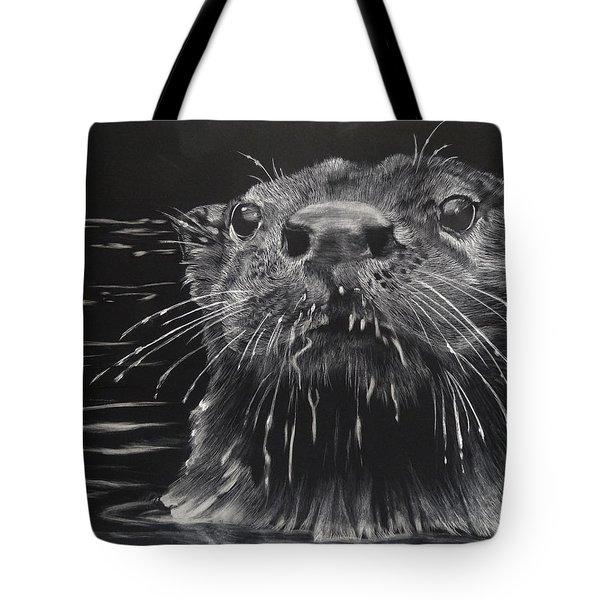 Drippy Tote Bag by Sydne Spencer