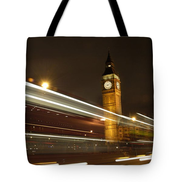 Drive By Ben - England Tote Bag by Mike McGlothlen