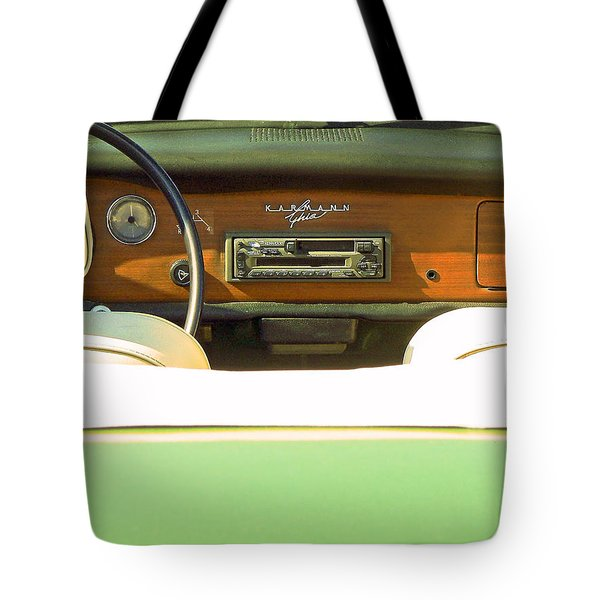 Driving With The Top Down Tote Bag by Pamela Patch