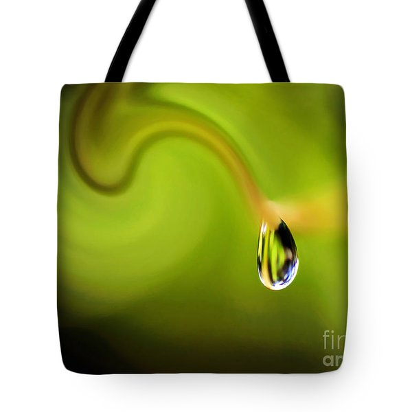 Droplet Ready To Drip Tote Bag by Kaye Menner