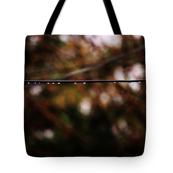 Drops Tote Bag by Jessica Shelton