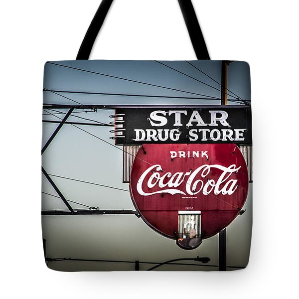 Drug Store Tote Bag by Perry Webster
