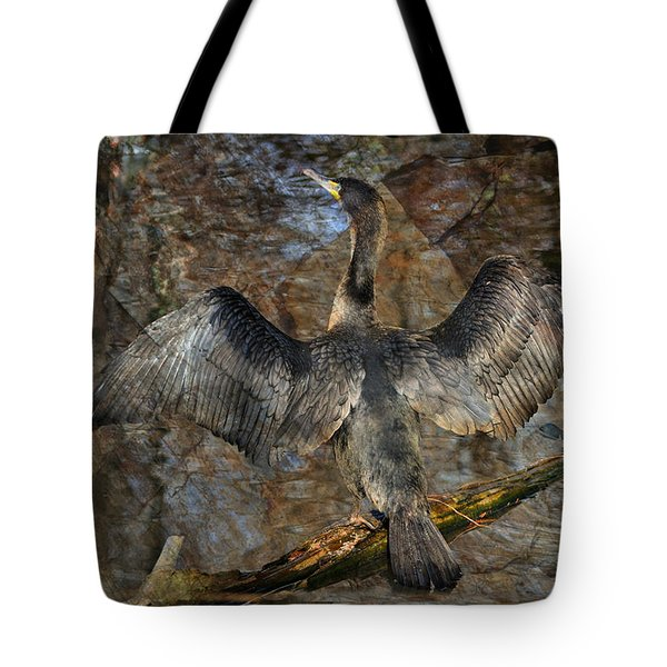 Drying Time Tote Bag by Marty Koch