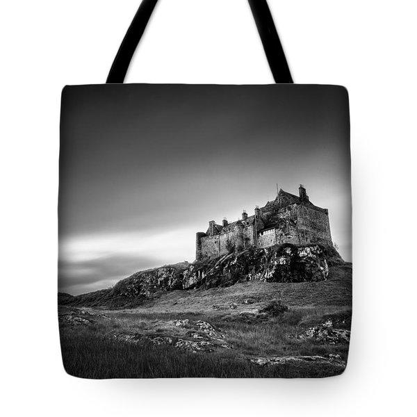 Duart Castle Tote Bag by Dave Bowman