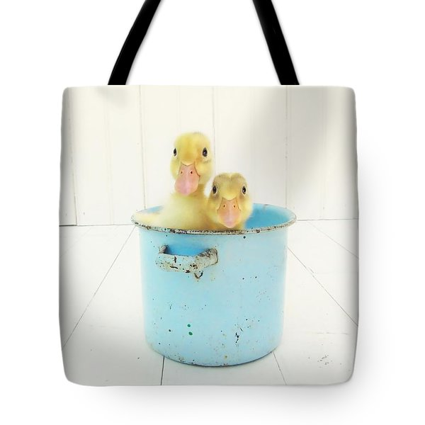 Duck Soup Tote Bag by Amy Tyler
