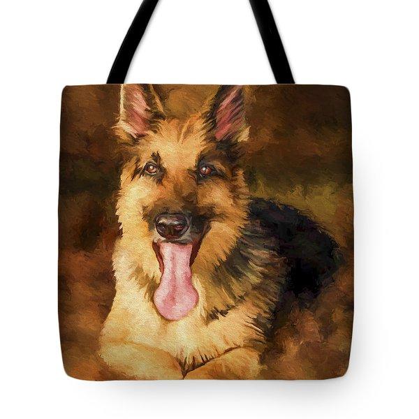 Duke Tote Bag by David Wagner