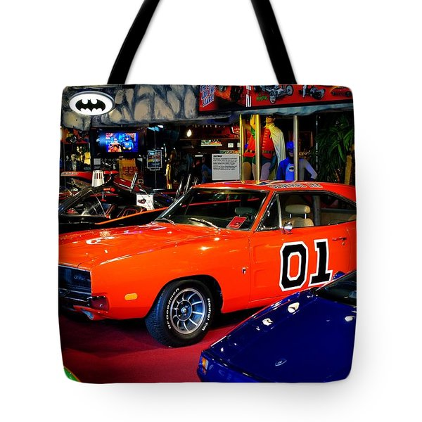 Dukes Of Hazzard Tote Bag by Frozen in Time Fine Art Photography