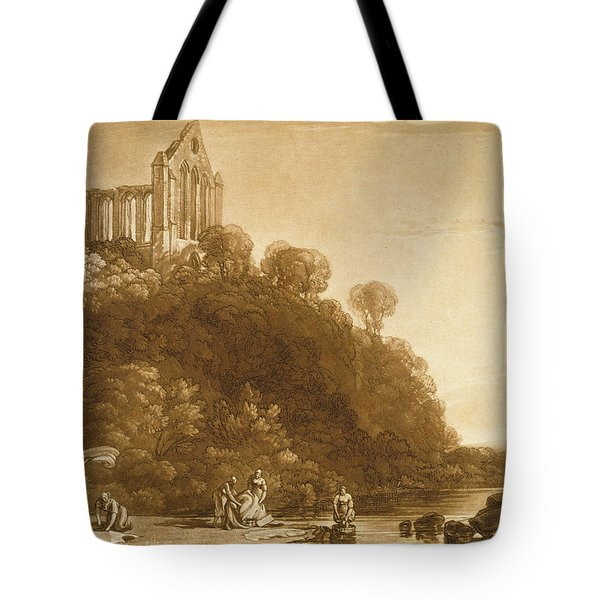 Dunblane Abbey Tote Bag by Joseph Mallord William Turner