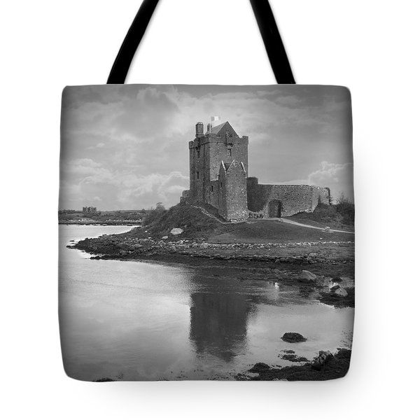 Dunguaire Castle - Ireland Tote Bag by Mike McGlothlen