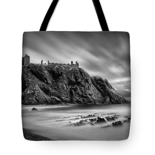 Dunnottar Castle 2 Tote Bag by Dave Bowman