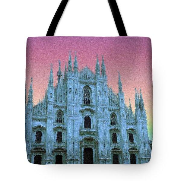 Duomo Di Milano Tote Bag by Jeff Kolker