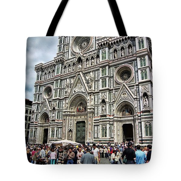 Duomo Of Florence Tote Bag by Allen Beatty