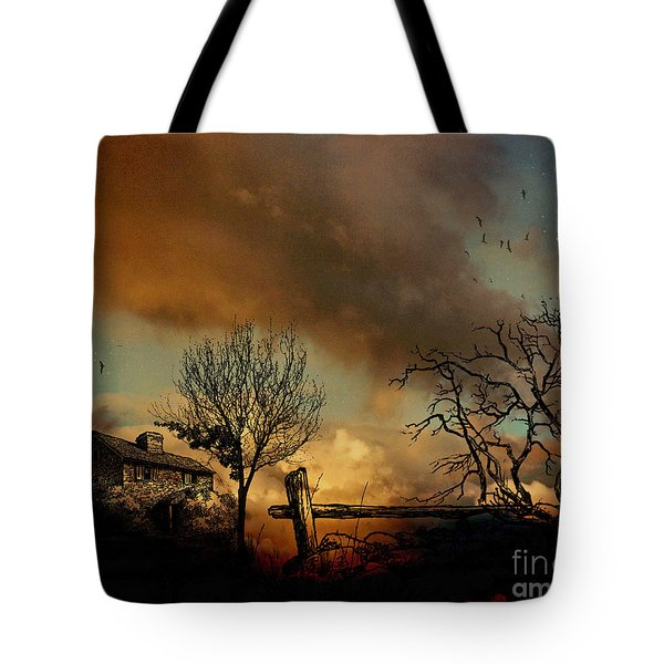 Dusk Tote Bag by Cheryl Young