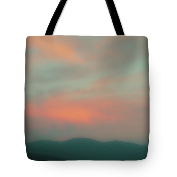 Dusk On Priest Lake Tote Bag by David Patterson