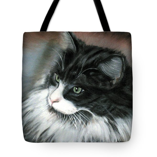 Dusty Tote Bag by LaVonne Hand