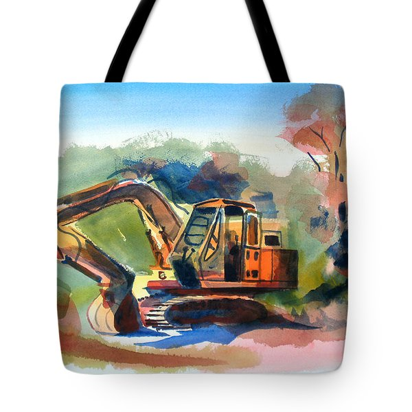 Duty Dozer Tote Bag by Kip DeVore