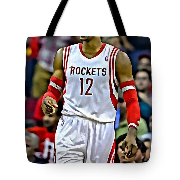 Dwight Howard Tote Bag by Florian Rodarte