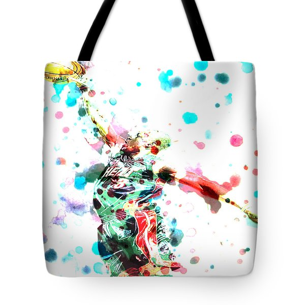 Dwyane Wade Tote Bag by BRIAN REAVES