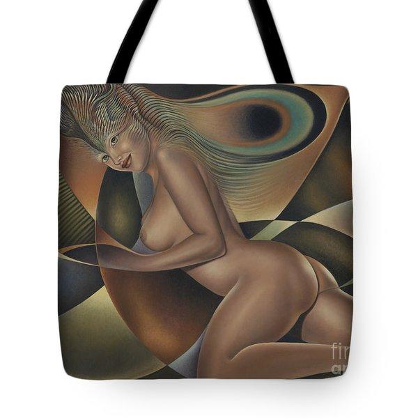 Dynamic Queen 4 Tote Bag by Ricardo Chavez-Mendez