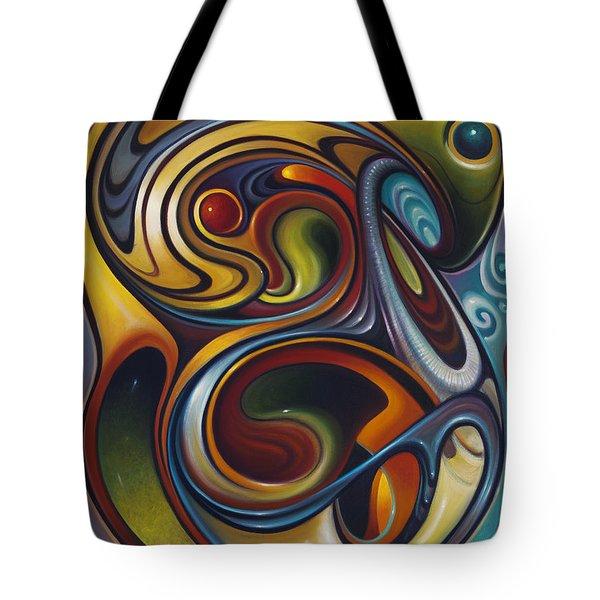Dynamic Series #15 Tote Bag by Ricardo Chavez-Mendez