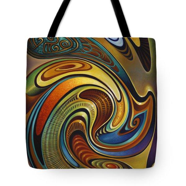 Dynamic Series #19 Tote Bag by Ricardo Chavez-Mendez