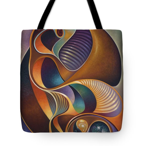 Dynamic Series #23 Tote Bag by Ricardo Chavez-Mendez