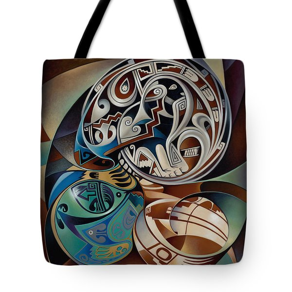 Dynamic Still Il Tote Bag by Ricardo Chavez-Mendez