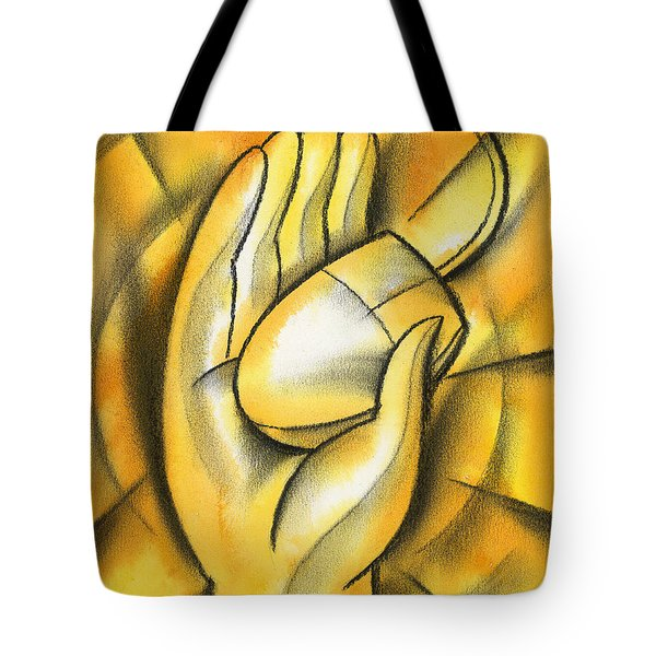 E- Business Tote Bag by Leon Zernitsky