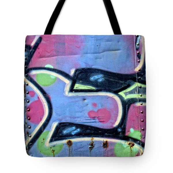 E Is For Equality Tote Bag by Donna Blackhall