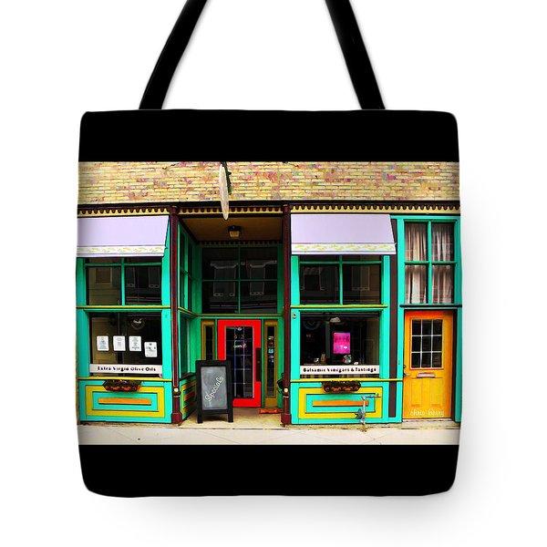 E V O O Store Tote Bag by Chris Berry