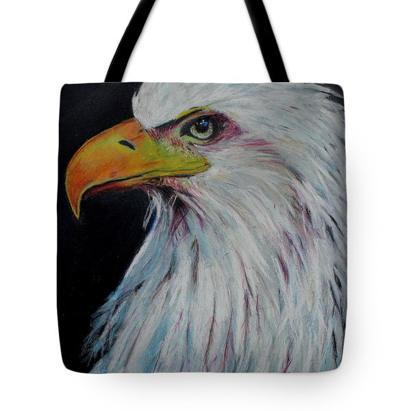 Eagle Eye Tote Bag by Jeanne Fischer