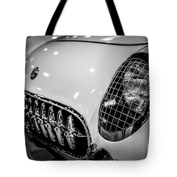 Early 1950's Chevrolet Corvette C1 Tote Bag by Paul Velgos